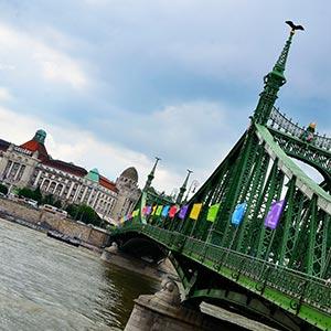 Hotel Gellért & Freedom Bridge